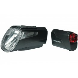 TRELOCK Akku LED Leuchtenset LS 460 I-GO Power + LS 720...