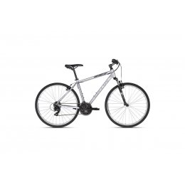 Kellys Cliff 10 Silver 28 Alu Herren Cross Hardtail,...