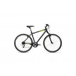 Kellys Cliff 70 Black Green 28 Alu Herren Cross Hardtail,...