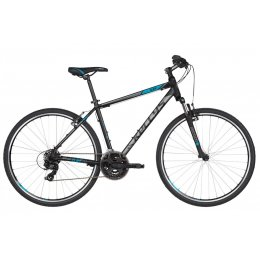 Kellys Cliff 10 Black Blue Alu Cross Hardtail, Shimano...