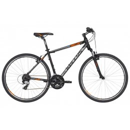 Kellys Cliff 30 Black Orange Alu Cross Hardtail, Shimano...