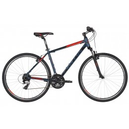Kellys Cliff 30 Blue Red Alu Cross Hardtail, Shimano...