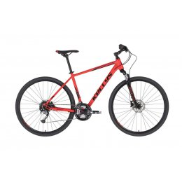 Kellys Phanatic 10 Red 28 Alu Cross Hardtail, Shimano Acera, 27-Gang,
