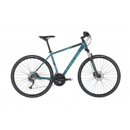 "Kellys ""Phanatic 30 Teal"" Alu Cross Hardtail,..."