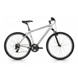 Kellys Cliff 30 Silver 28 Alu Cross Hardtail, Shimano...