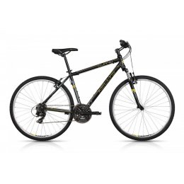 Kellys Cliff 10 Yellow 28 Alu Cross Hardtail, Shimano...